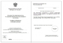 Problematyka ochrony na statku (Certificate of Proficiency in Security Awareness)
